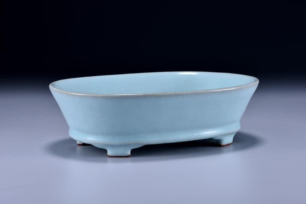 汝窯青瓷水仙盆