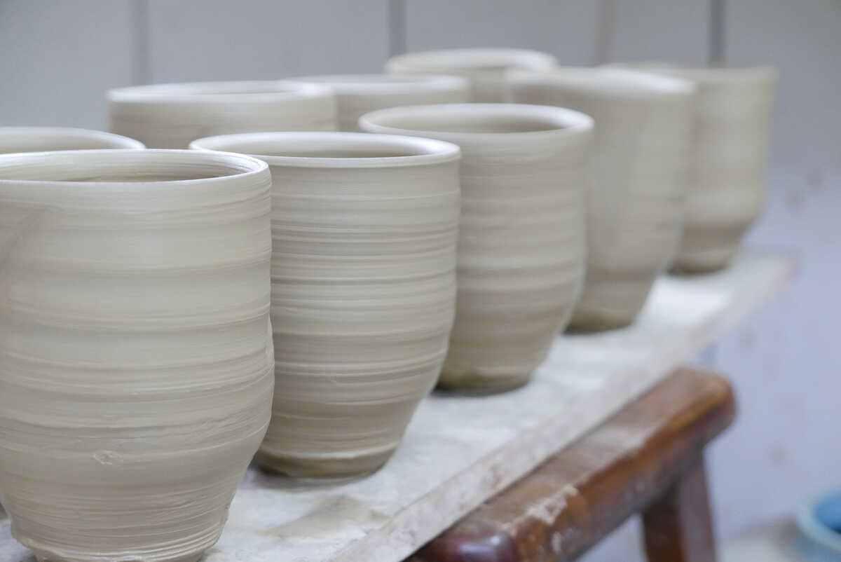 陶藝品的土胚