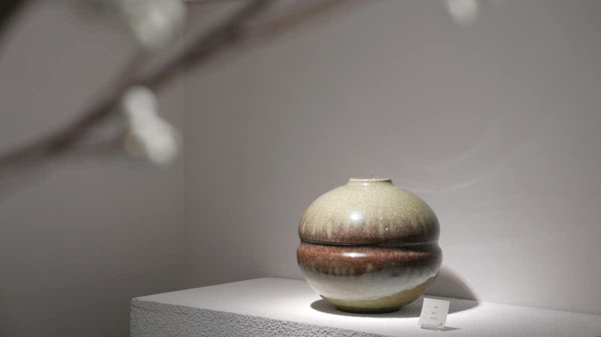 㚕磬冰裂陶藝作品